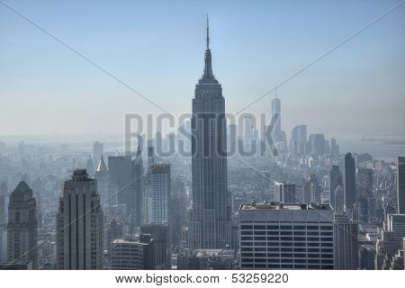 Empire State Building, New York City Usa