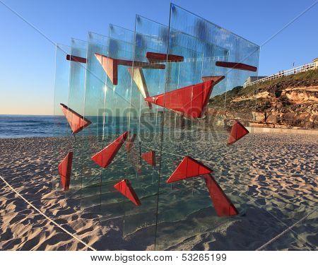 Sculpture By The Sea Exhibit At Bondi Australia