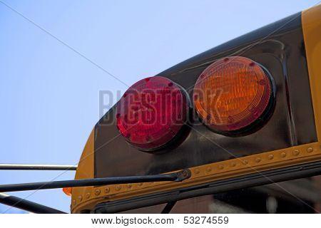 Yellow  Schoolbus Detail