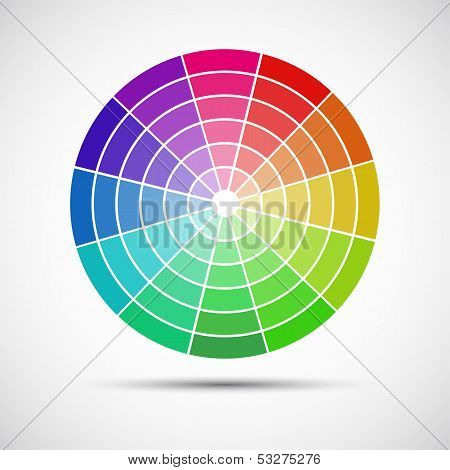 Color round palette
