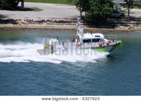 Fire Department Boat