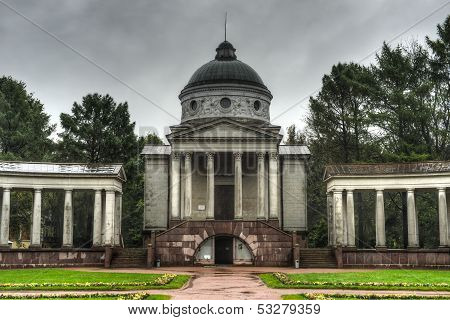 Arkhangelskoe Palace, Yusupov Temple And Burial Vault