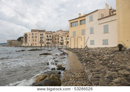 Embankment In Saint-tropez
