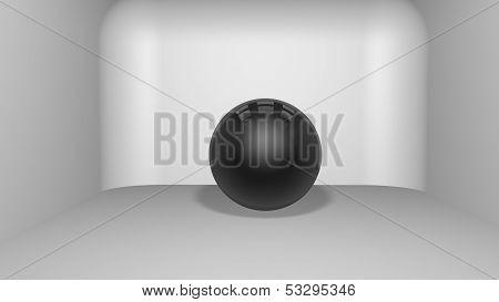 Sphere in room