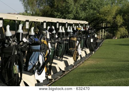 Golf Carts Ready