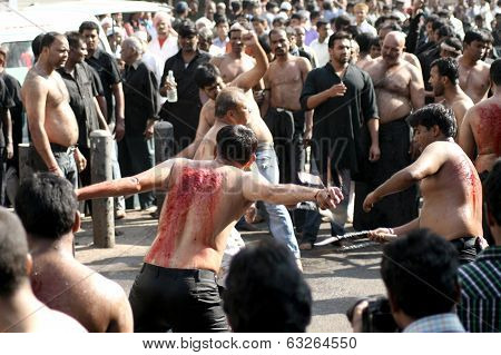 Bibi-Ka-Alam annual procession during Moharram,Hyderabad,India