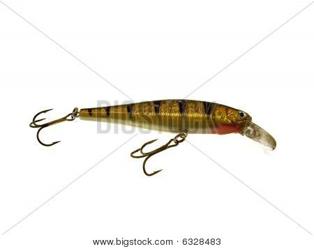Silvery Striped Fishing Superficial Wobbler