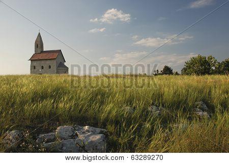 Romanesque Church Saint Michael On The Rock