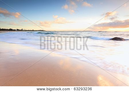 Beautiful Morning At Australian Beach
