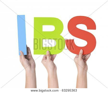 Group of Multiethnic Hands Holding IBS