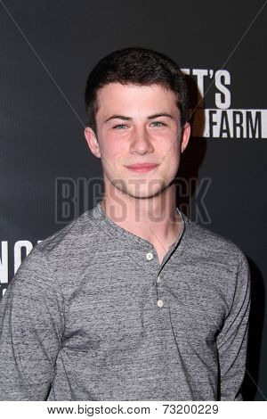 LOS ANGELES - OCT 3:  Dylan Minnette at the Knott's Scary Farm Celebrity VIP Opening  at Knott's Berry Farm on October 3, 2014 in Buena Park, CA