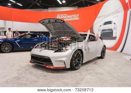 2015 Nissan 2015 Nissan 370Z Nismo At The Orange County International Auto Show