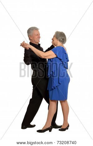 old couple dancing