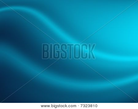 Abstract Hills Background in Blue