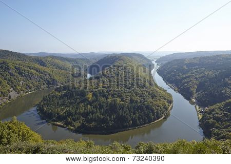 Mettlach (saarland, Germany) - Saar Loop