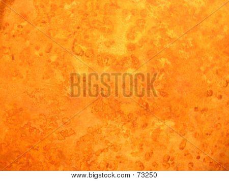Orange Marble Wall