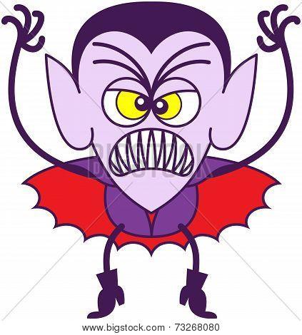 Scary Halloween Dracula