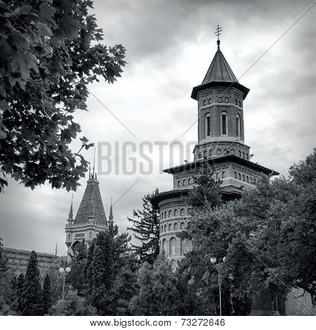 Saint Nicolae Church And Culture Palace