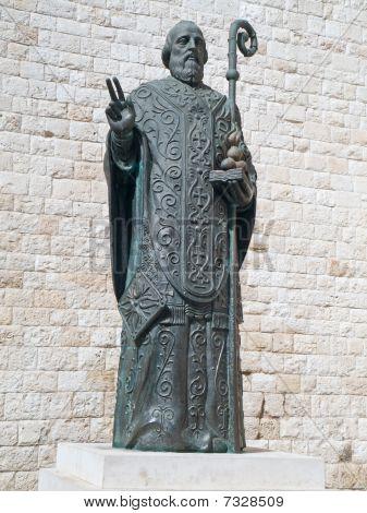 St. Nicholas Statue. Bari. Apulia.