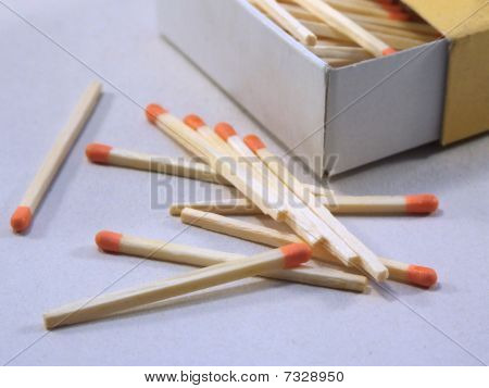Matchsticks and Box