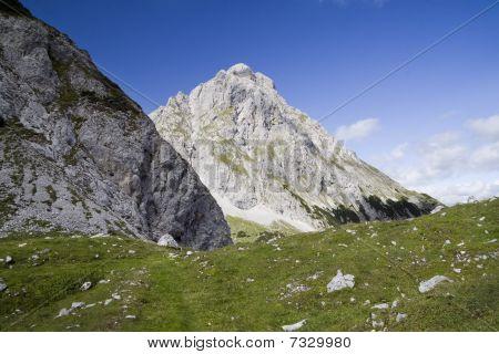 Ehrwalder Sonnenspitze peak