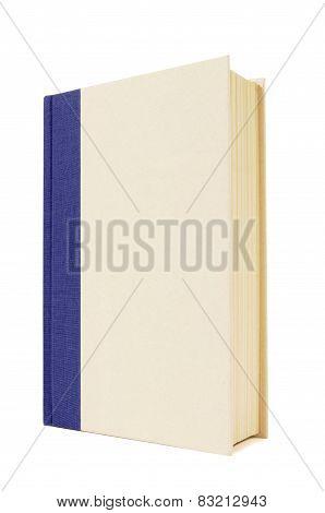 Blue And Cream Hardback Book