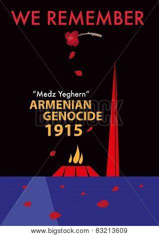 Armenian Genocide Memorial called Tsitsernakaberd