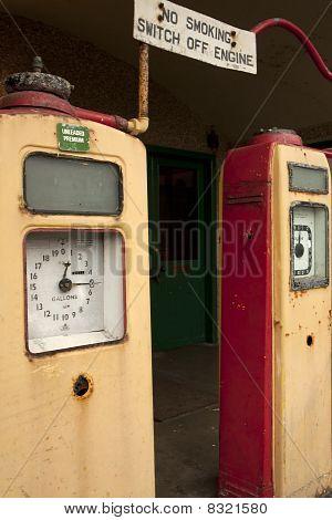 Vintage Tankstelle