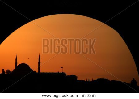 Sunset at Instanbul