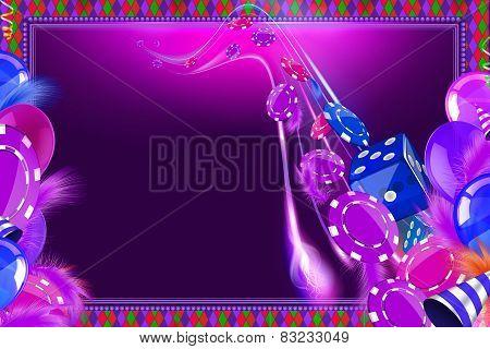 Casino Celebration background