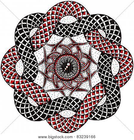 Hand-drawn Vector Mandala