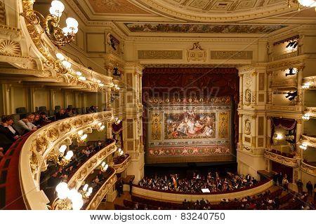Dresden Opera House Indoor