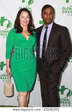 LOS ANGELES - FEB 18:  Fran Drescher at the Global Green USA's 12th Annual Pre-Oscar Party at a Avalon on February 18, 2015 in Los Angeles, CA