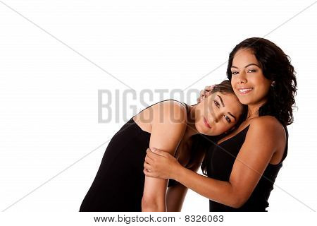 Young Woman Couple