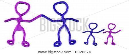 pipe cleaner family