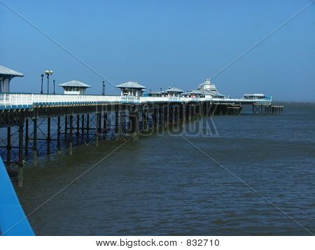 Seafront Pier, Wales.