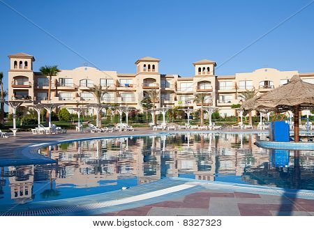 Resort Hotel With A Pool