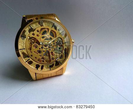 The Golden Wristwatch