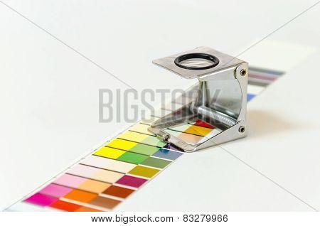 Press color management concept