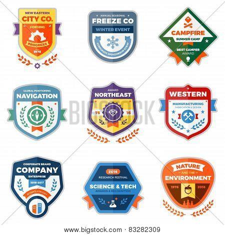 Modern Badge Graphics