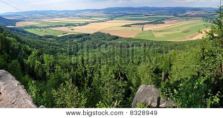 Panorama of European Countryside