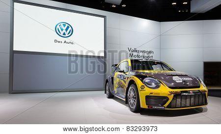 Volkswagen Beetle #34 Rallycross