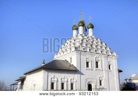 Church of Nikola Posadsky (Resurrection Church). Kolomna, Russia.