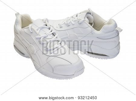 White Running Shoes