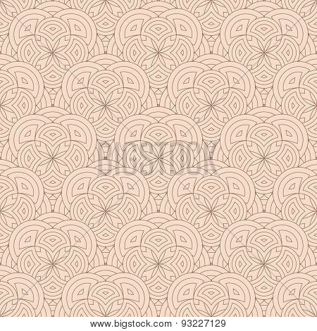Abstract Geometric Seamless Background