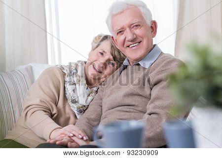 Happy Grandma And Grandpa
