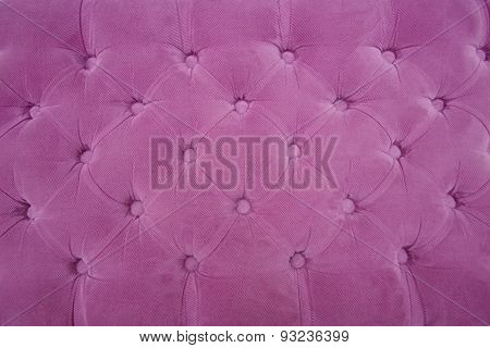 Sewn Purple Cloth Background