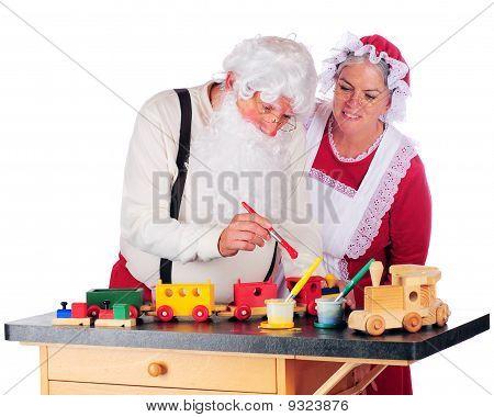 Overseeing Santa's Work