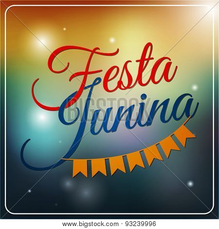 Festa Junina Set Of Logos, Emblems And Labels - Traditional Brazil June Festival Party - Midsummer H
