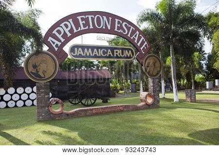 JAMAICA- OCTOBER 29: Plant on production of Appleton rum  on october 29 2011 in Jamaica
